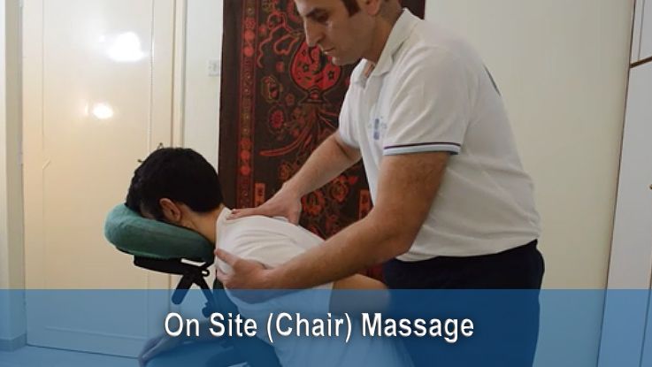 on site chair massage